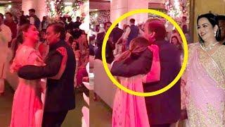 Isha Ambani Breaks Down & HUGS Father Mukesh Ambani At Brother Akash Ambani Shloka Mehta's  WEDDING