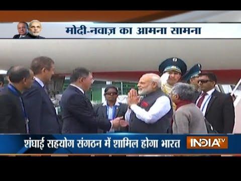 PM Modi arrives in Kazakhstan as India eyes full membership of SCO in Astana