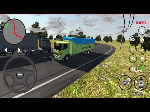 IDBS Indonesia Truck Simulator #2 - New Truck Unlocked - Android Gameplay 2019 - 동영상