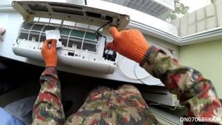 видео Как демонтировать кондиционер своими руками