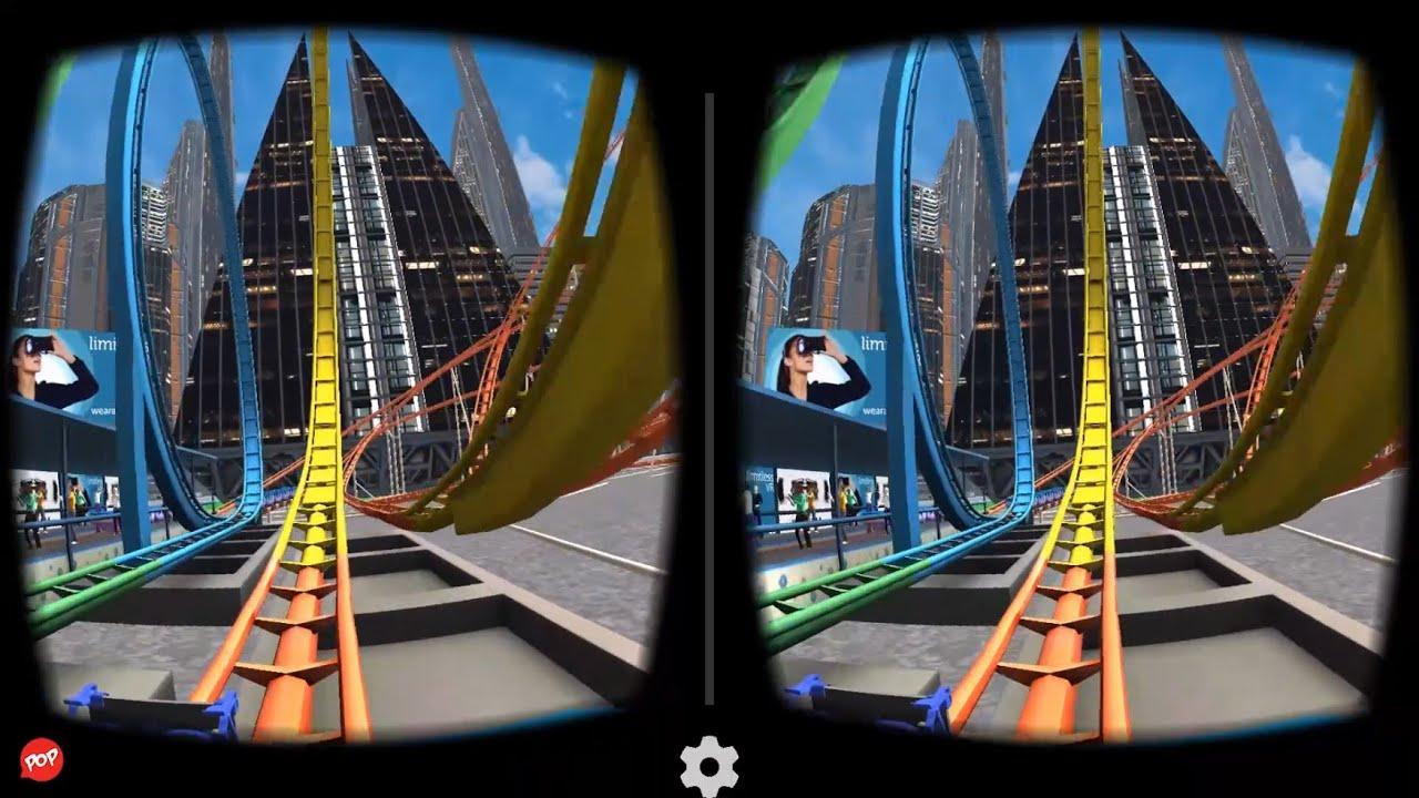 VR Roller Coaster Application