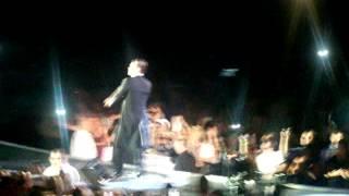 Robbie Williams Intro & Shine My Shoes Birmingham 06/07/14