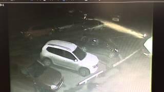 Оренбург,11.05.15,пьяная девушка за рулем,разбила 3 машины