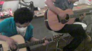"My friend George and BOM(b) play ""Lightning"""