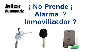 Inmovilizador Llaves Con Chip Explicado Keys With Chip Avilcar