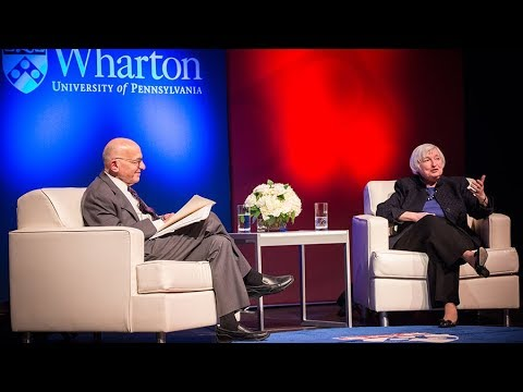 Howard Crawley Memorial Lecture: Janet L. Yellen