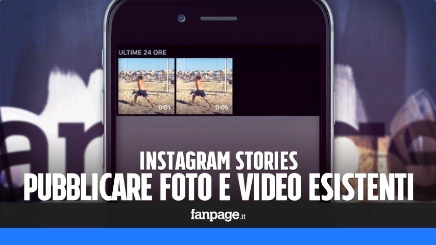 App per instagram stories sfondo bianco