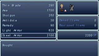 Final Fantasy 7 Dark Cloud Fan Game Part 1