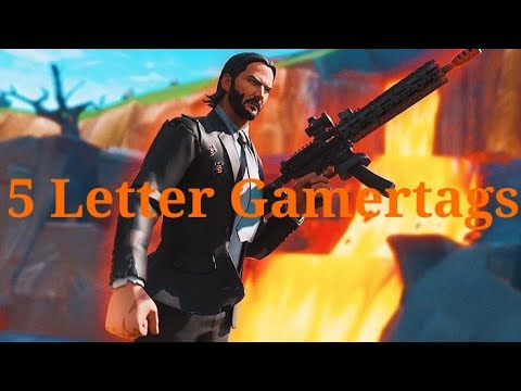 Clean OG 5 Letter Fortnite Gamertags Not Taken 2019 (Xbox/PS4) Pt 15