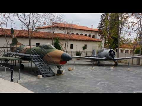 War Museum Polemiko Mousio - Outside Video Tour (Athens, Greece)