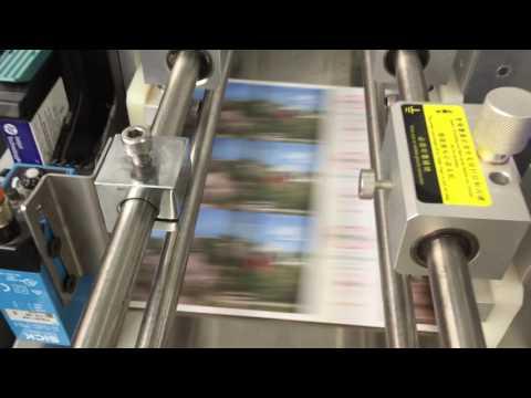 Digital inkjet installed for ticket label coding Henan Province Customer A+