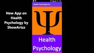 New App on Health Psychology