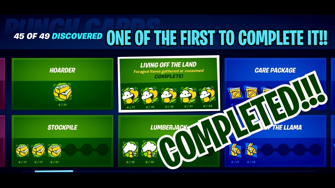 HOW TO COMPLETE LIVING OFF THE LAND 1000 FORAGED ITEMS GATHERED OR CONSUMED (FRENZY FARM IS THE KEY)
