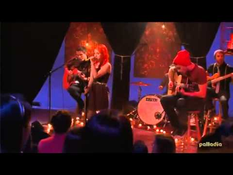 Paramore - MTV  (Acoustic live)
