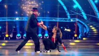 Holly Valance and Artem Chigvintsev dancing the Jive