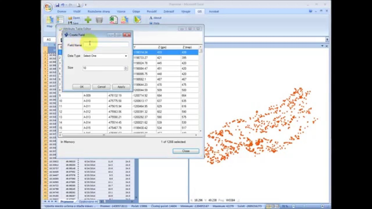 GIS XL   How to Update ShapeFile Layer by Spreasheet Data