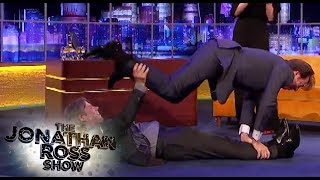 John Bishop And Jonathan Ross Planking  - The Jonathan Ross Show