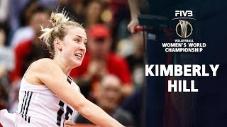 BEST Volleyball Kimberly Hill l USA Volleyball World Championship 2018