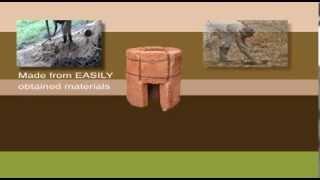 Building a Six Brick Rocket Stove