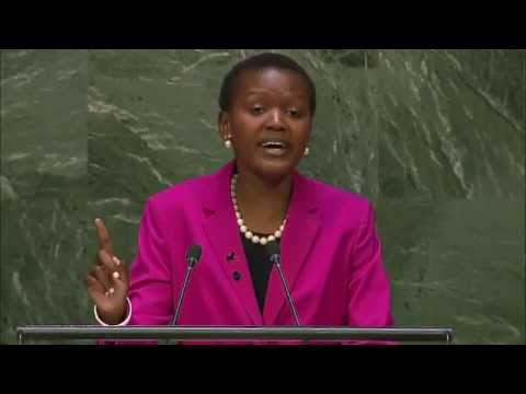 Vivian Onano: Keynote Speaker at UN General Assembly ...