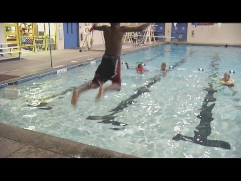 Swimming Safety Class at Glenn Hills Middle School