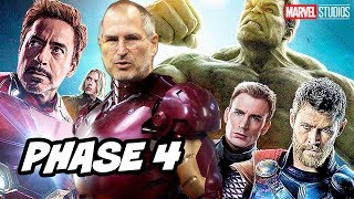 Why Marvel Is Owned By Disney Because Steve Jobs and Apple - Avengers Marvel Phase 4