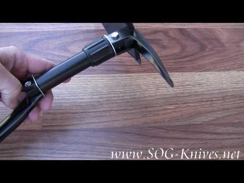 SOG Entrenching Tool F08 Demo