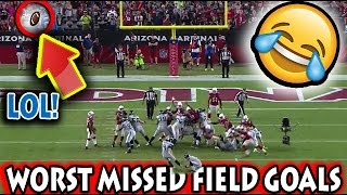 Worst Missed Field Goals in Football History