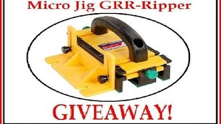 Micro Jig Giveaway! #1:enter By 11/30/14