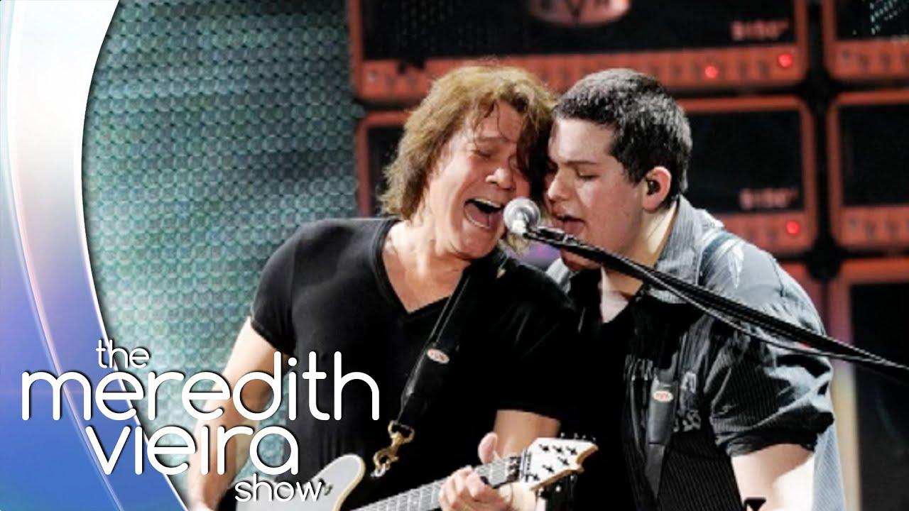 Valerie Bertinelli On Son With Eddie Van Halen The Meredith Vieira Show Youtube