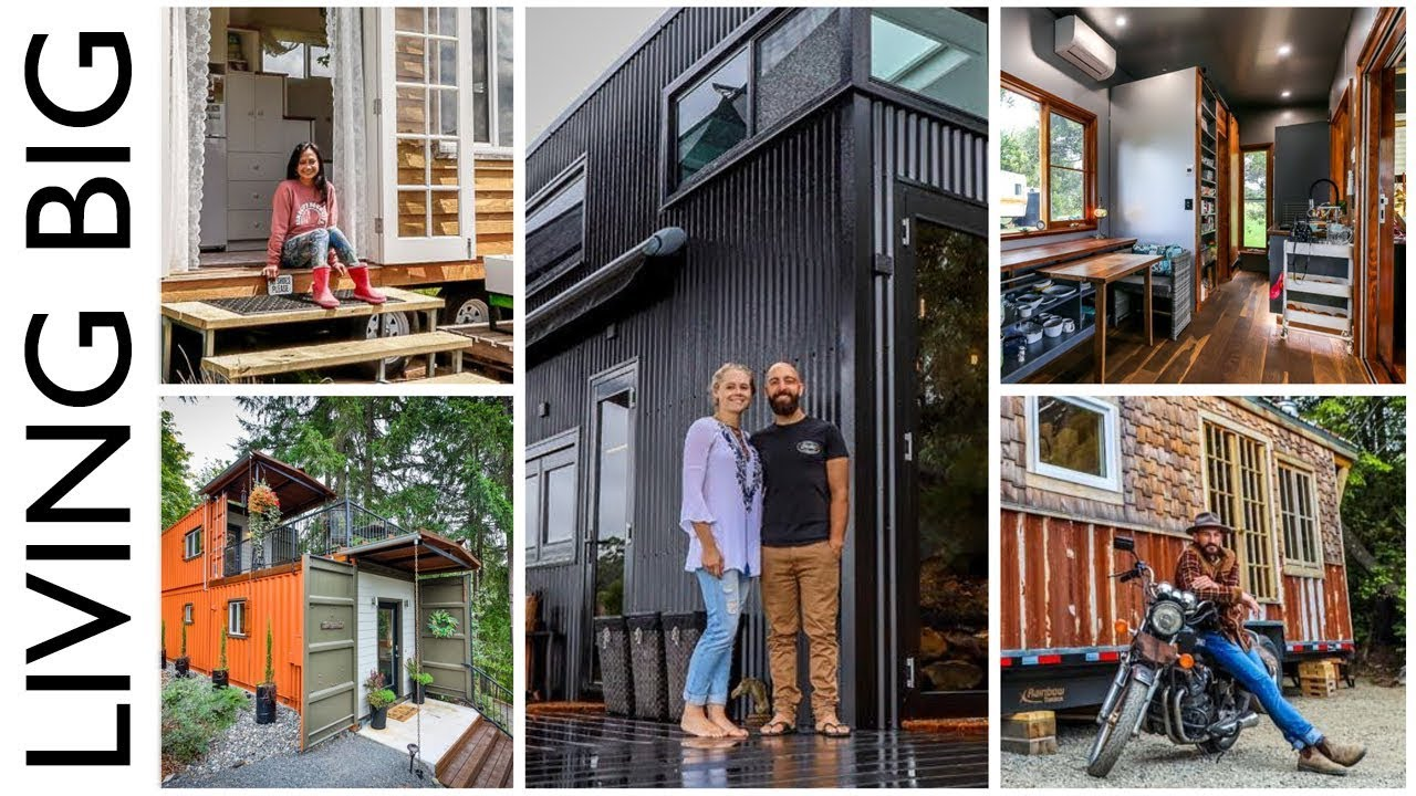 The Top Tiny Houses Of 2019 Youtube
