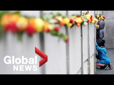 Germany, Angela Merkel mark 30th anniversary of the fall of the Berlin Wall