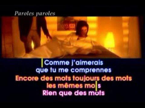 Paroles, Paroles - Dalida & Alain Delon