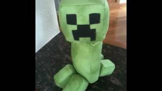 Creeper Plush with Hissing Sound Effect