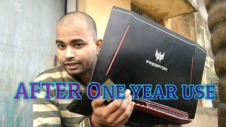 ACER PREDATOR GENUINE REVIEW AFTER 1(ONE) YEAR USE    HINDI-ENG    INDIA