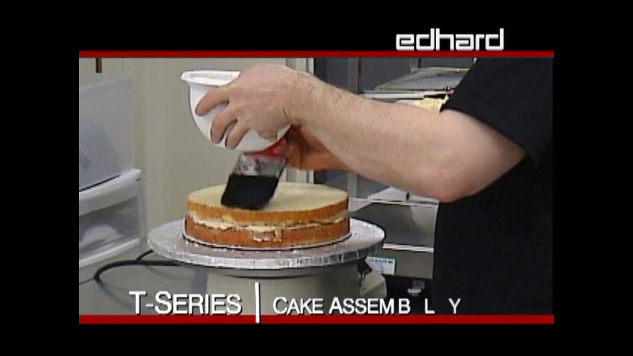 Turntable Cake Decorating Edhard Corp
