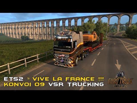 ETS2 » Vive la France! 🚛 VSR Konvoi 09 📦 Transformator von Marseille nach Brest 🚚 T500RS GT