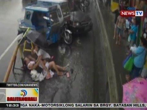 BT: Matandang babae, nadulas at tumama ang ulo sa barikada sa Iriga City, CamSur