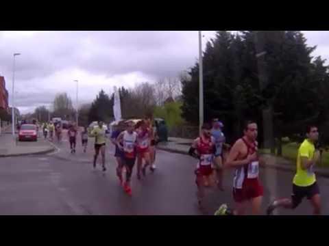 Medio Maraton Mérida 5/3-2017 - Entera maraton!