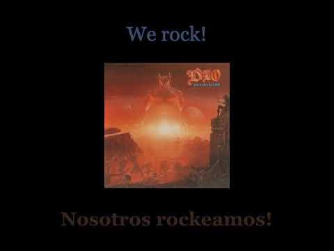 Dio - We Rock - Lyrics / Subtitulos en español (Nwobhm) Traducida