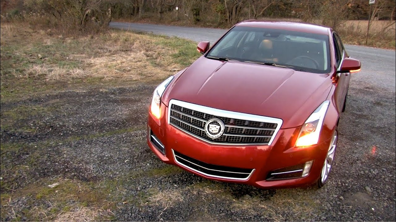2013 Cadillac ATS 3.6L Premium Review | 0-60 Road Test | MPGomatic
