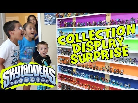 Thumbnail: Skylanders Collection Display SURPRISE! Ultimate Toy Storage Organization!