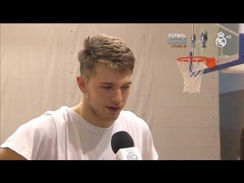 Entrevista Luka Doncic   Real Madrid Baloncesto