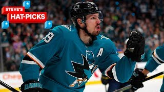 NHL Plays of The Week: Logan Couture Is A Beast! | Steve's Hat-Picks