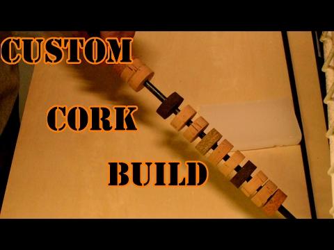 Custom Cork Handle - Fly Rod Build