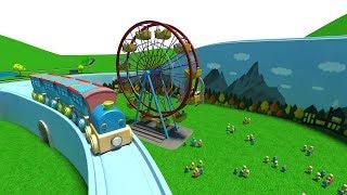 trains for children - chu chu train - catroon train - cartoon for kids - toy train