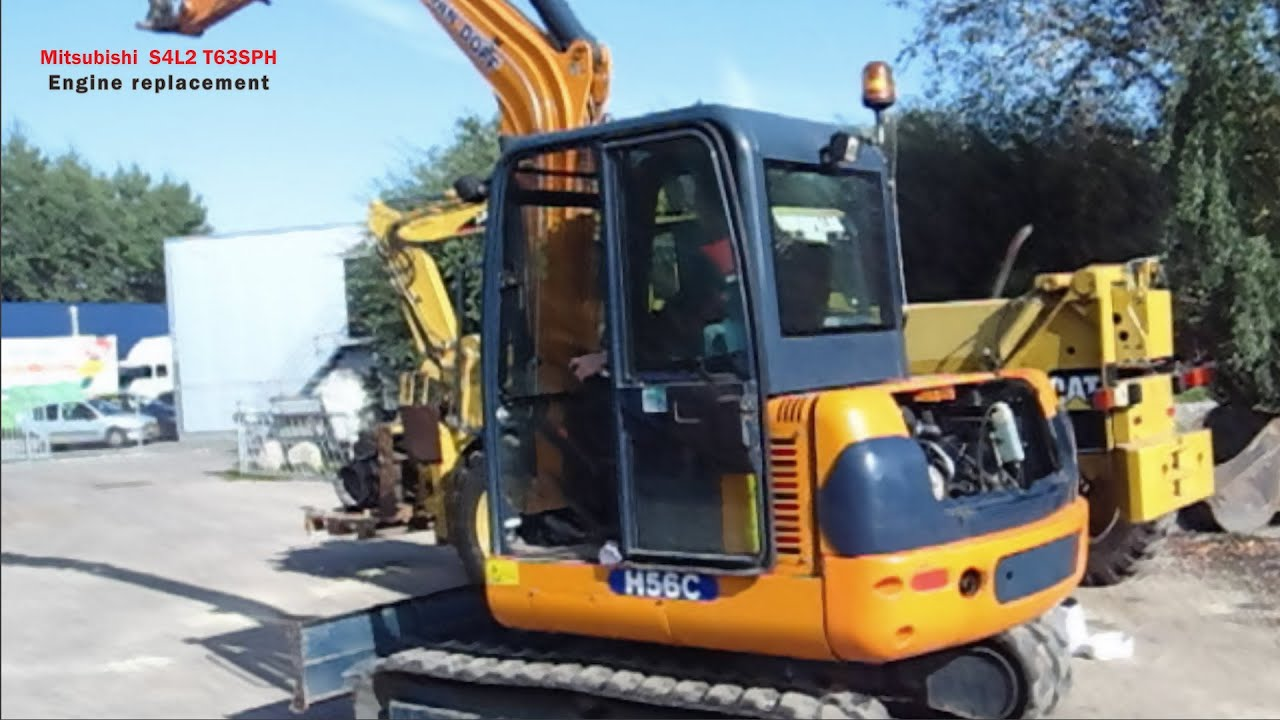 excavator hanix h56c k4n replacement by a s4l2 t63sph det