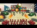 Minecraft | RED VS GREEN BASE CHALLENGE - Army Soldier War! (Protect the BASE)