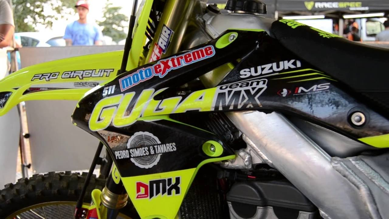 Ktm 450 Sx >> Suzuki RMZ 450 Neon Yellow GugaMx 2016 - YouTube