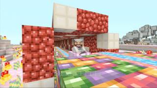 Crushed Raspberry Vs CrazyCreeper321 - Iron Chef Minecraft Xbox 4JStudios Candy Texture